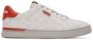 Coach 1941 Grey Lowline Low Top Sneakers