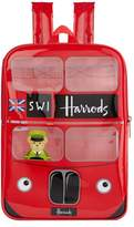 Harrods London Red Bus Backpack