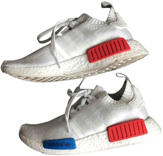 adidas Nmd White Polyester Trainers