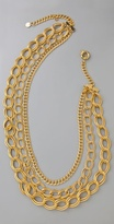 Layered Chains Necklace