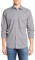 Maker & Company Regular Fit Microcheck Sport Shirt
