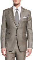 Tom Ford O'Connor Base Sharkskin Two-Piece Suit, Tan