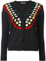 Marco De Vincenzo bow embellished cardigan - women - Polyester/Wool - 40