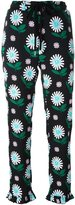 Markus Lupfer daisy print cropped trousers