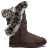 Australia Luxe Collective Nordic Angel Short Rabbit Fur and Shearling Boot