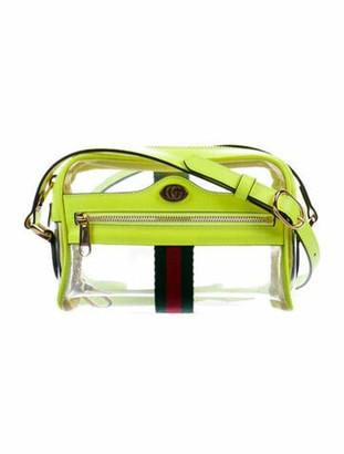 Gucci Mini Ophidia Transparent Crossbody Bag w/ Tags Clear