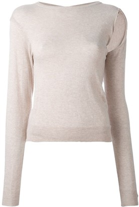 Maison Martin Margiela Pre-Owned Deconstructed Top