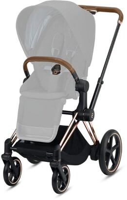 CYBEX Rose Gold E-Priam Frame And Seat Hard Part