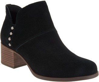 Koolaburra By Ugg by UGG Suede Studded Ankle Boots - Sofiya