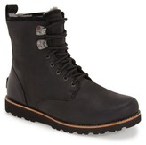 UGG Men's Hannen Plain Toe Waterproof Boot With Genuine Shearling