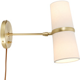 Rejuvenation Conifer Medium Plug-In Wall Sconce