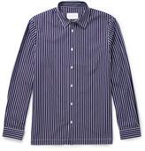 Sandro - Striped Cotton-poplin Shirt