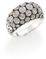 John Hardy Dot Diamond & Sterling Silver Dome Ring