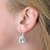 Swarovski Iscah and Mimi Pear Drop Bridal Earrings Made With Crystals
