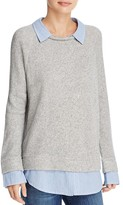 Soft Joie Diadem Layered-Look Sweater