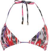 Karen Millen Abstract Print Bikini Top