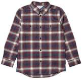 Wallis **Boys Red Long Sleeve Checked Shirt (5 - 12 years)