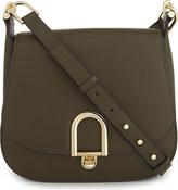 MICHAEL Michael Kors Michael Kors Ladies Olive Embossed Classic Delfina Leather Shoulder Bag