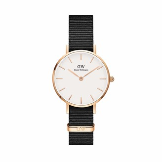 Daniel Wellington Classic Petite Stainless Steel Japanese-Quartz Watch with Nylon Strap
