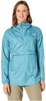 The North Face Printed Fanorak (Storm Blue Outdoor Print) Women's Coat