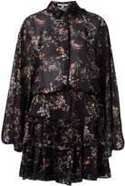 Alexis floral print ruffled dress - women - Polyester - S