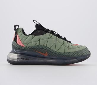 Nike Mx-720-818 Trainers Jade Stone Team Orange Juniper Fog