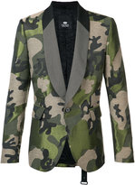 Tom Rebl camouflage blazer - men - Cotton/Acrylic/Polyester/Viscose - 48