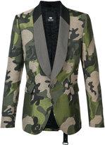 Tom Rebl camouflage blazer - men - Viscose/Acetate/Polyester/Cotton - 52