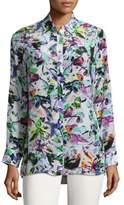 Robert Graham Katica Silk Button-Down Shirt