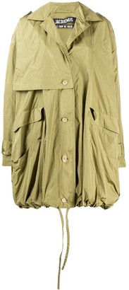 Jacquemus Oura tightenable bubble shape parka