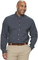 Dockers Big & Tall Comfort Stretch Soft Classic-Fit Solid No-Wrinkle Button-Down Shirt