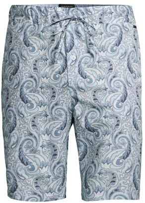 Hanro Night & Day Woven Paisley Shorts