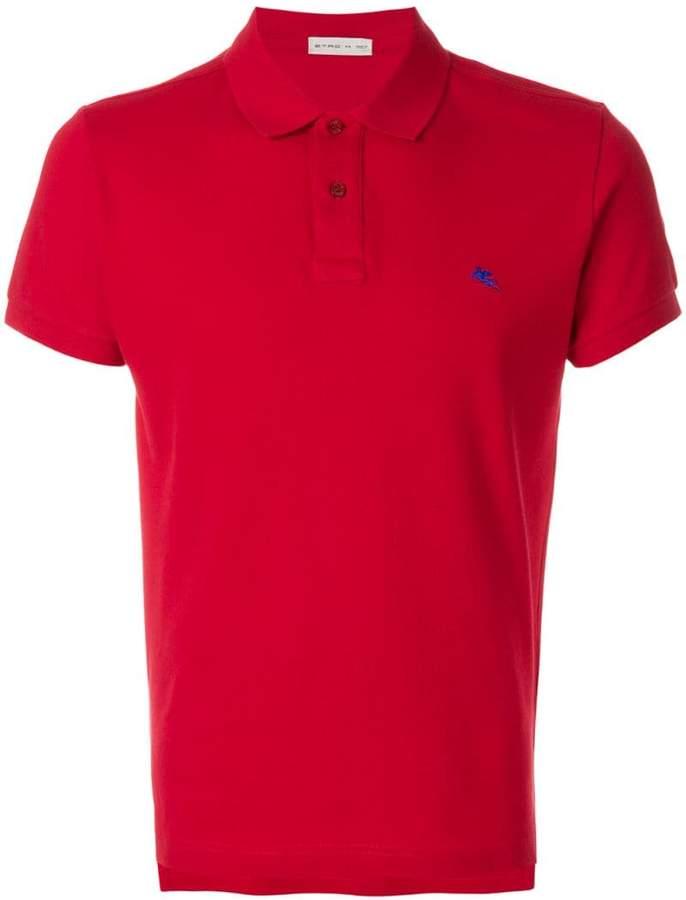 Etro slim fit polo shirt