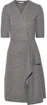 Tomas Maier Draped Felt Dress - Gray