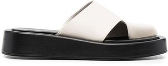 Elleme Semi-Open Toe Slip-On Sandals