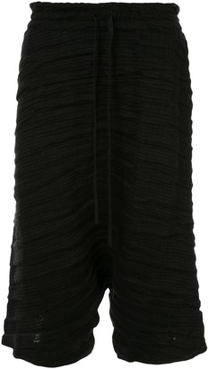 Forme D'Expression Cropped Ribbed Trousers