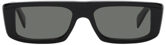 RetroSuperFuture Black Issimo Rectangle Sunglasses