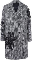 Ermanno Scervino double-breasted embellished coat