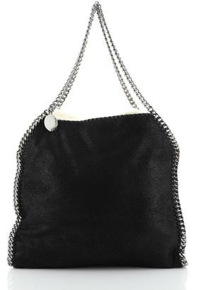 Stella McCartney Falabella Reversible Tote Shaggy Deer and Faux Fur Small