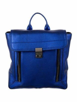 3.1 Phillip Lim Leather Pashli Backpack Blue