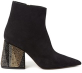 Marni Point-toe suede ankle boots