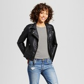 Xhilaration Women's Faux Leather Moto Jacket Juniors')