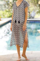 Rock Flower Paper Palm Beach Dress