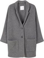 MANGO Texture unstructured coat