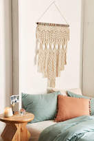 Urban Outfitters Penny Woven Macrame Wall Hanging