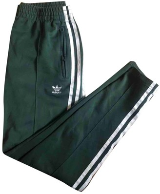 adidas Green Trousers for Women