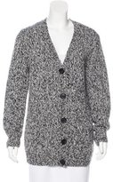 L'Agence Wool Longline Cardigan