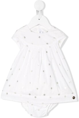 Boss Kids Dotted Pleated Body