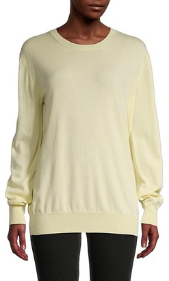 The Row Long-Sleeve Cashmere Sweater