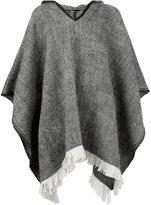 Dolce & Gabbana hooded poncho